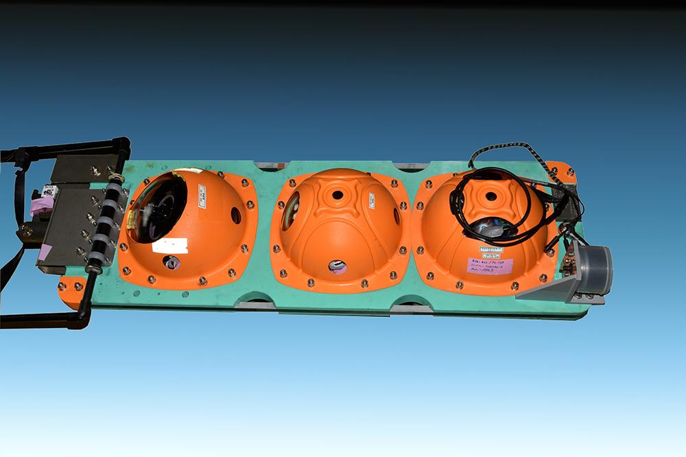 江戸っ子1号(海洋探査機)モデル図