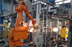 ガラス巻き取りロボット