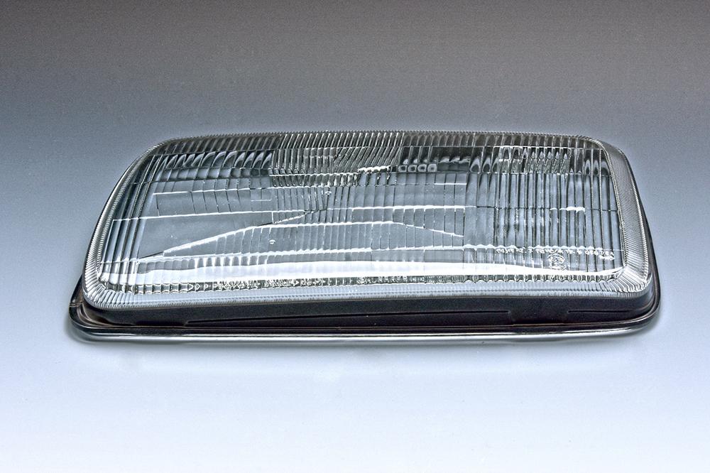 ヘッドランプカバーガラス単体